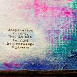 Bad art is the labor pains through which the artist births herself.- http://www.lightinmyhands.com/when-bad-art-is-good/
