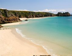 world's clearest water beaches!    porthcurno cornwall | Porthcurno, Cornwall, UK (© Shannon Nace_LP)