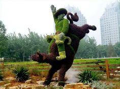 Topiary Sculptures
