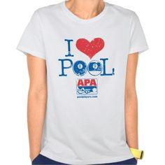 I Heart Pool Tee T Shirt, Hoodie Sweatshirt