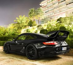Porsche Gemballa Avalanche GTR 600...not a big fan of the big spoiler, but overall I like the look of this one.