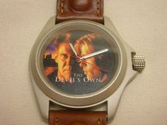 2008 Watch The Devil's Own Movie Watch Leather Band 30mm Crystal Brad Pitt Ford #Unbranded #Movie