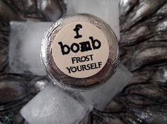 Frost Yourself spearmint f bomb effervescent by fbombswearystuff