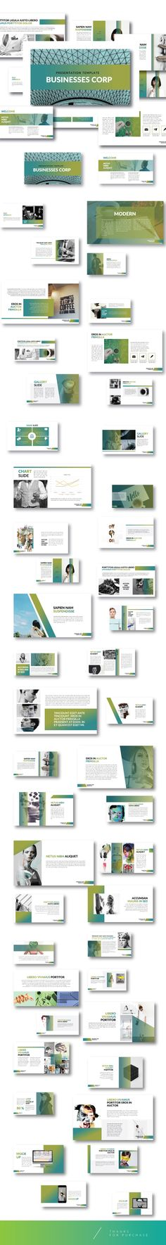 The Bussiness - Creative Keynote template - Business Keynote Templates