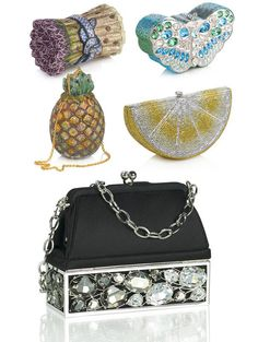 judith leiber purses. OH MY GOD IS THAT ASPARAGUS THAT IS ASPARAGUS I WANT THAT SO BAD