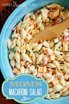 This creamy pasta is the perfect side dish for all those potluck BBQs this summer. It is easy to make and a big crowd pleaser.
