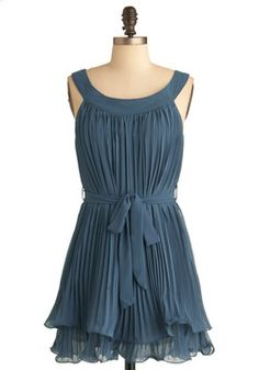 meh? love the color! $53. Magic Gathering Dress, #ModCloth