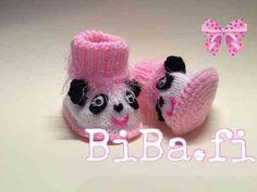 Neuletossut, panda - BiBa
