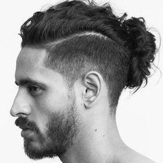 Curly Hair Man Bun Haircut Man Bun Hairstyle Guide For Curly Hair Men Man Bun Hairstyle, Man Bun Fade Mahmood Has Naturally Curly Hair Yelp, Mens Hairstyles Man Bun Hairstyle Guide For Curly Hair Men, Man Bun Undercut, Man Bun Haircut, Curly Undercut, Man Bun Hairstyles, Fade Haircut, Hairstyles 2018, Mens Long Hair Undercut, Hairstyle Man, Decent Hairstyle