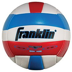 Enjoy family fun on the beach with the Franklin Sports Super Soft Spike Volleyball. This Super soft volleyball is precision stitched for consistent shape and performance, plus features raised seams for greater directional control outdoors. Volleyball Online, Spike Volleyball, Volleyball Designs, Volleyball Equipment, Beach Play, New Kids Toys, Sport Watches, Red White Blue, Soccer Ball