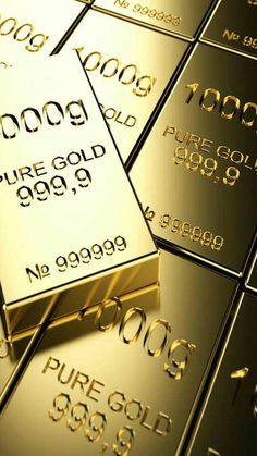Gold Bullion Bars, Gold Reserve, Gold Everything, Money Stacks, Gold Money, Money Affirmations, Buy Bitcoin, Gold Art, Gold Coins