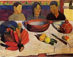 by Paul Gauguin in oil on canvas, done in . Find a fine art print of this Paul Gauguin painting. Paul Gauguin, Henri Matisse, Henri Rousseau, Oil On Canvas, Canvas Prints, Art Prints, Canvas Art, Large Canvas, Impressionist Artists