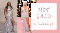 Met Gala Challenge | J Lo's Versace Inspired Dress - YouTube Jennifer Lopez Love, Versace Gown, Dj Party, Sequin Fabric, Red Carpet Looks, Brittany, Pretty Dresses, Challenges, Sequins