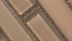 Glitter grout, because everything should sparkle