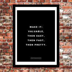 Fancy - Make It Valuable Poster