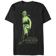 Star Wars Jedi Master Luke Skywalker Mens Graphic T Shirt ** Visit the image link more details.