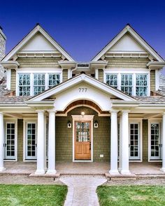 Classic Traditional Cottage House Plan Bungalow Style Home
