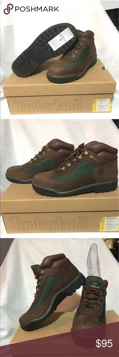 Timbs ✨✨New✨✨ never worn (beef & broccoli) Timberlands grade school field boots, willing to negotiate the price✨✨ size 5 #boots #kids Timberland Shoes Boots