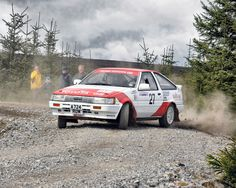 Toyota Corolla Levin (AE86) Rally Car