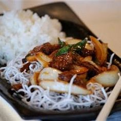 Slow Cooker Mongolian Beef (bet i could use this for chicken too!)