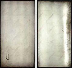 Sheela Gowda Portraits  print on backlit flex 62cm x 120cm (each panel) 2006