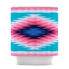 Amazon.com: Kess InHouse Nika Martinez Surf Lovin II Shower Curtain, 69 by 70-Inch: Home & Kitchen  #surf #love #trendy #cool #pink #stripes #blue #acqua #pattern #tribal #aztec #navajo #home #decor  #bath #bathroom #shower #curtain #lovemybath #lovemyhome #coolhomes #coolbaths #coolkids  #lovekess #sporty #kess #kessinhouse #nika #amazon #sale