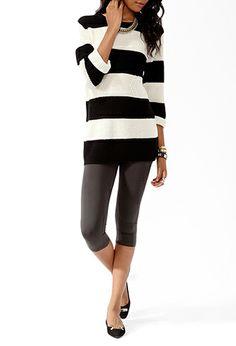 Easy Cropped Leggings | FOREVER21 - 2078968077