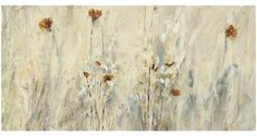 Wistful Poppies Wall Art - Floral Art - Canvas Wall Art - Gallery-wrapped Canvas Prints | HomeDecorators.com