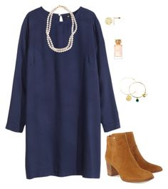 """""""Be Merry and Bright"""" by sc-prep-girl ❤ liked on Polyvore featuring Tory Burch, H&M, STELLA McCARTNEY and Alex and Ani"""
