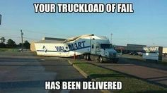 Truckload of fail