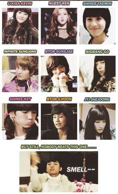 Kevin oppa is hot as a lady but way better as Kevin. GD oppa scares me as a girl. And then Daesung oppa. Shinee, Jonghyun, Daesung, Bigbang Vip, Btob, Cnblue, Kdrama Memes, Funny Kpop Memes, Vixx