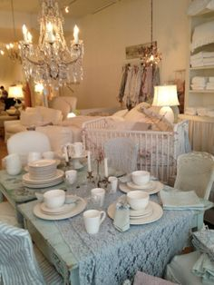Rachel Ashwell Shabby Chic Couture nyc store - photo by kathy duvall