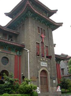 Duolun Road in Shanghai China