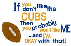 Like Me Cubs Applique - 4 Sizes! | What's New | Machine Embroidery Designs | SWAKembroidery.com Nobbie Neez Kids