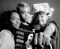 Chilli, T-Boz and Left Eye - TLC