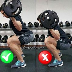 Correctnes squat Weight easy loss Fitness Lifestyle-Do the correctnes squat as shown in the picture for the most effective result!