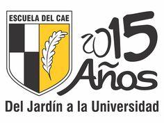 Escuela CAE Logo 15 Años