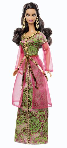 Mattel X8425 - Barbie Collectors Dolls of the World Marocco: Amazon.it: Giochi e giocattoli