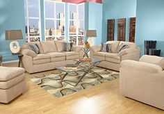 Shop for a Valley Crest Camel 5 Pc Living Room at Rooms To Go. Find Living Room Sets that will look great in your home and complement the rest of your furniture.