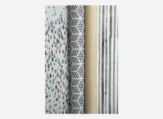 Inpakpapier L'Atelier stripes, giftwrapping via deens. House Doctor, Gadget Gifts, Print Packaging, Cool Gadgets, Print Patterns, Stationery, Wraps, Gift Wrapping, Stripes