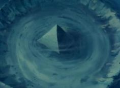 Pyramids Of Glass Submerged In The Bermuda Triangle.