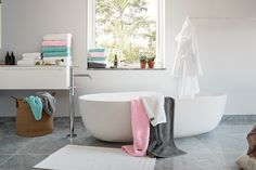 Amara | Gant | bathroom, pastel, towels, summer, bath