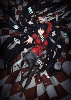Kakegurui Compulsive Gambler Series Premieres in July, Has 12 Episodes