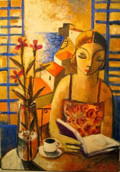 Reading and Art: Didier Lourenço