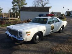 1976 Plymouth Fury  1976 Plymouth Fury Sheriff Rosco Coltrane Dukes of Hazzard tribute police car #ad