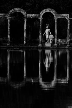Villa Adriana Tivoli Italy By Enzo B in Flicr