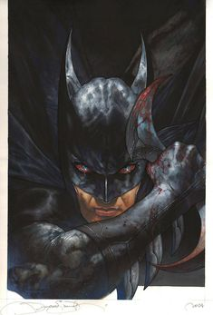 Batman Created by Simone Bianchi