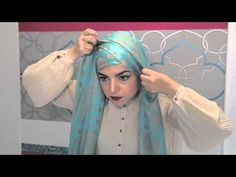 Criss Cross Hijab Style I Occasional - YouTube