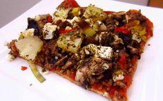 Yhden ainesosan pizzapohja – ei hiilareita!