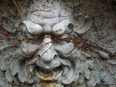 An Old Stone Man by Celshonar